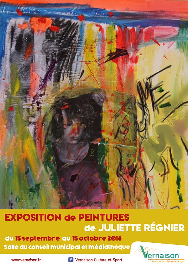 Exposition temporaire de Juliette Régnier @ salle du Conseil municipal et médiathèque