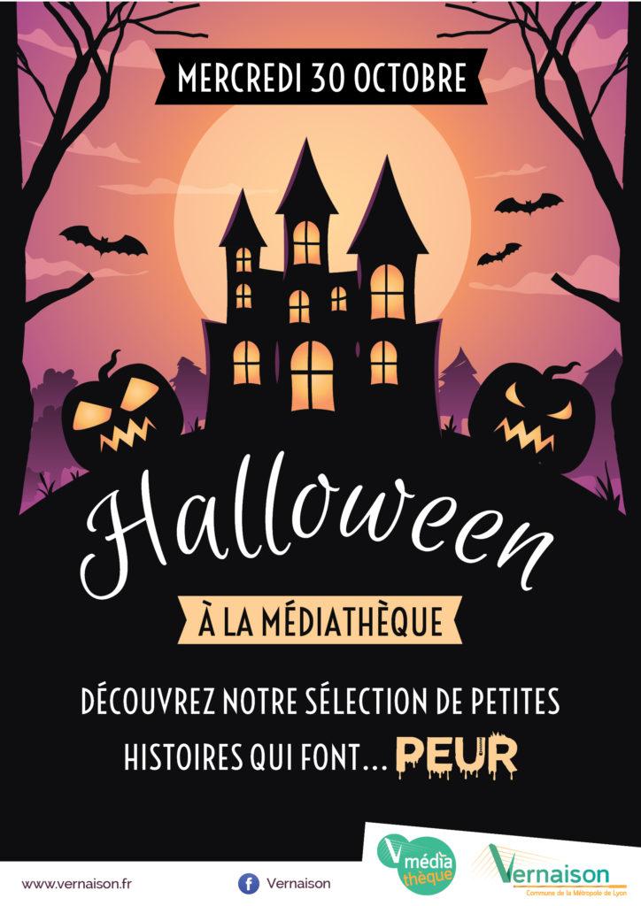Halloween à la Médiathèque @ Médiathèque