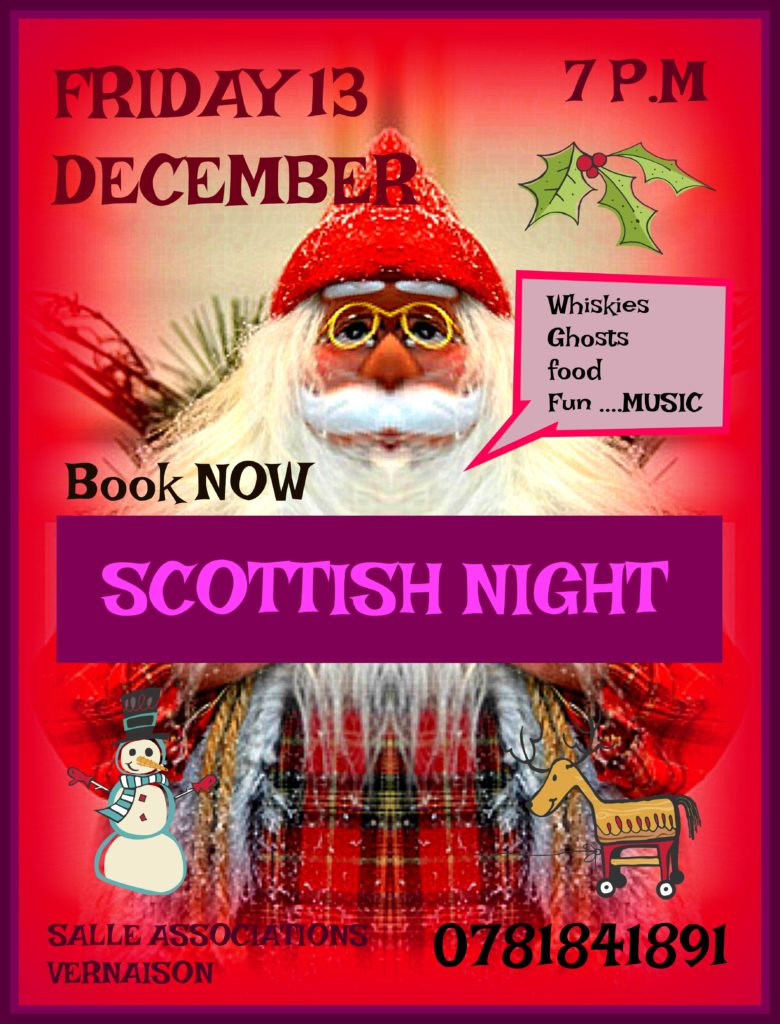 Scottish night par Hello Vernaison @ Salle des associations