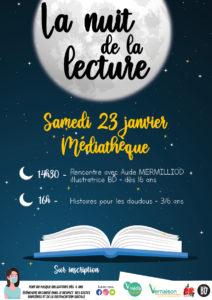 Nuit de la lecture @ Médiathèque